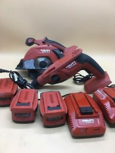 Hilti Te 2 a18 Rotary Hammer Drill Scam 18 a 2 Chargers And 3 Batteries