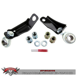 01 10 Gmc Chevy 2500 Hd 3500 Cognito Pitman Arm Idler Arm Support Brace Kit
