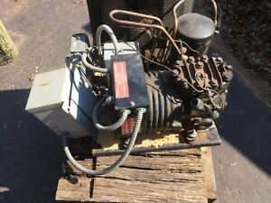 Walk in Cooler Compressor Kat2 0100 cav Copeland Mounted With Wiring Ready2go