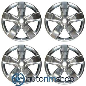 Jeep Grand Cherokee 2011 2013 20 Factory Oem Wheels Rims Set Polished