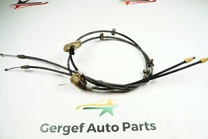 08 Chevy Malibu Emergency Parking Brake Cable Set Pair 12129