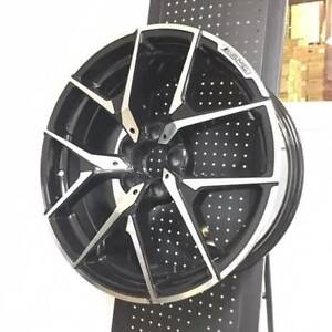 18 Amg Style Black Rims Wheels Fits Mercedes Benz C280 C320 C350