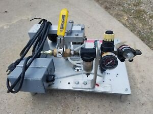 Norwood Pneumatic 110v Stamping Embossing Machine Press Foot Operated