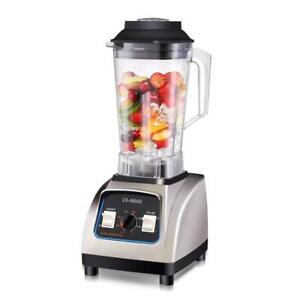 Nice Professional Commercial Blender Smoothie Juice Milkshake Maker W 2 5l Jar