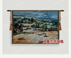 World Famous Paintings Tuscan Countryside Tapestry Wall Hanging Picture