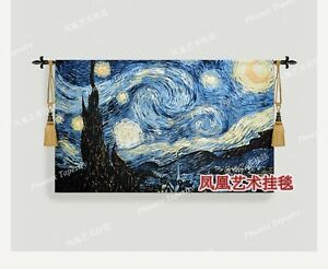 The World Famous Paintings Van Gogh The Starry Sky Wall Hanging Tapestry