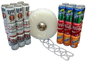 1000 Count Roll 6 pack Rings Universal Fit Fits All 12oz Beer Soda Cans New