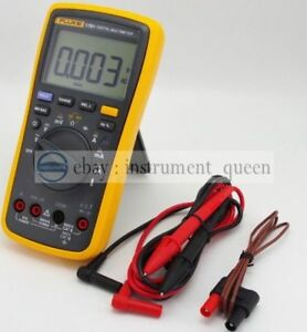 Fluke 17b Digital Multimeter Meter Tester Dmm With Tl75 And 80bk a