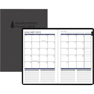 House Of Doolittle Dated Monthly Productivity Planner 29799