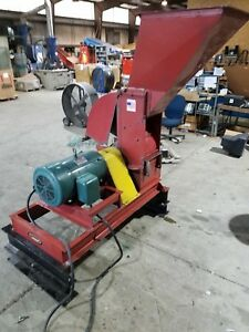 Meadows Model 25 Hammer Mill 3ph Electric 24 x 24 30hp For Dry Material 3ph