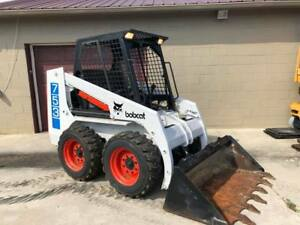 Bobcat 753 Skid Steer Rubber Wheel Loader Cat Aux Hyd Kubota Diesel We Ship