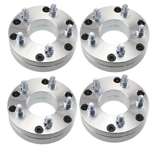 4pcs 2 Wheel Adapters 6x5 5 To 5x5 Spacer 5 Lug Wheels Onto A 6 Lug Truck