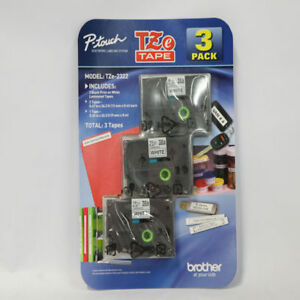 Brother P touch Label Tape Assorted Pack 2 Tze231 1 Tze221