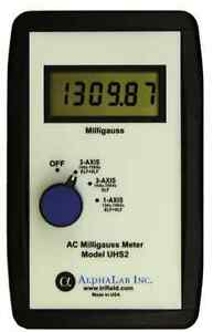 Alphalab Uhs2 Digital Ac Low Frequency Gaussmeter