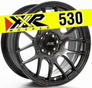 Xxr 530 16x8 4x100 4x114 3 20 Chromium Black Wheels Set Of 4