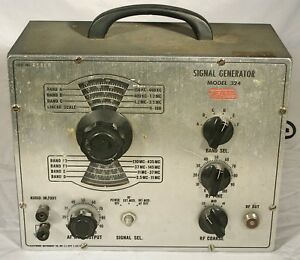 Vintage Eico Signal Generator Radio Repair Model 324