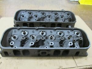 1969 Big Block Chevy Bbc 396 427 Copo Rectangle Heads 3919840 A 16 9 A 22 9