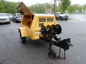 Ingersoll Rand 175 Cfm Tow Behind Air Compressor Only 414 Hours