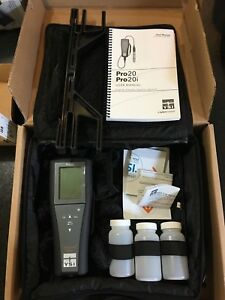 Ysi Pro20 Professional Series Handheld Dissolved Oxygen Field Polarographic Kit