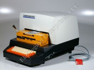 Addressograph 6500 Graphotype Debossing Embossing Dog Id Tag Printing Machine