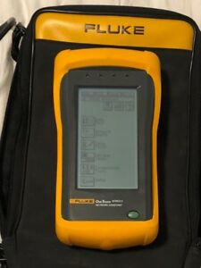 Fluke Onetouch Series Ii 10 100 with Accessories