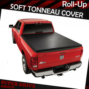 6 5 Ft Soft Lock Tonneau Cover 09 16 Dodge Ram 1500 2500 3500 Roll Up Bed Cover