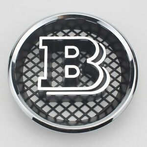 Brabus Grille B Badge Emblem Decal For Mercedes Benz W463 G63 G65 G500 G550 Amg