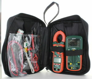 Extech etk35 Electrical Test Kit True Rms Multi meter Ac dc Clamp Meter