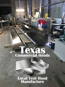 10 Ft Exhaust Commercial Kitchen Hood Blower Roof Curb For Restaurants