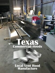 8 Ft Restaurant Commercial Kitchen Hood Blower Roof Curb For Dallas Tx