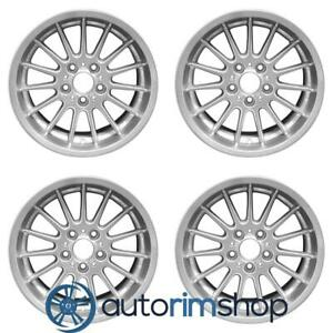 Bmw 525i 528i 530i 540i 1997 2003 17 Oem Staggered Wheels Rims Set
