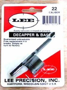 Lee 90103 Lee Precision *  Decapper and Base for 22 Cal