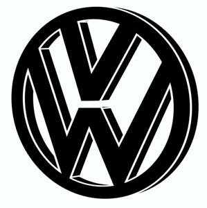Vw 1 Logo Sticker Decal On 4d Carbon Fiber Texture Vinyl Buy 2 Get 1 Free