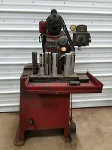 Sunnen Rod Honing Machine With Gauge And Cap Grinder