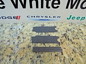 10 16 Jeep Wrangler Soft Top Header Foam Tape Kit Factory Mopar New Oem