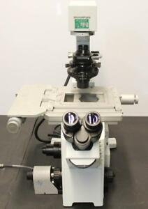 Olympus Ix51 Inverted Fluorescence And Phase Contrast Microscope Asi Z 4590