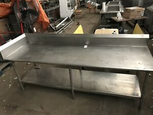 Restaurant Work Table Stainless Steel With Undershelf