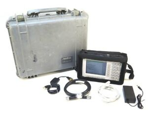 Anritsu Site Master S331d Cable antenna Analyzer W Opt 3 Color Screen