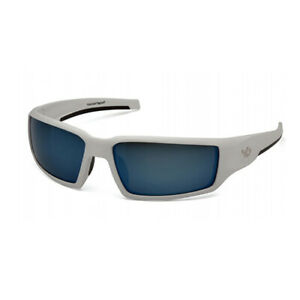 Pyramex Safety Venture Gear Pagosa White Frame Ice Blue Polarized Lens Vgsw561