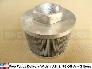 Jcb Parts Hydraulic Tank Filter Strainer Suction part No 32 908100