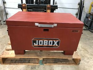Jobox Steel Jobsite Storage Box 31 X 18 X 15 1 2 Brown Finish Model 651990d