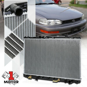 Aluminum Core Radiator Oe Replacement For 92 96 Toyota Camry 2 2 Auto Dpi 1318
