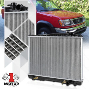 Aluminum Core Radiator Oe Replacement For 98 04 Nissan Frontier Xterra At 2215