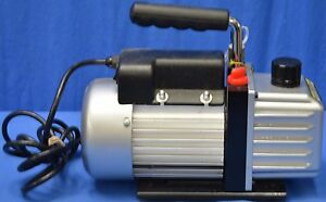 Two stage Electric Vacuum Pump Auto 3 Cfm For Air Conditioner Refrigeration