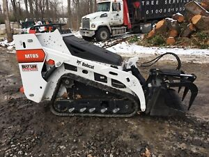 2018 Bobcat Mt85 Mini Skid Steer 698