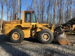 Case 621zf Wheel Loader 851