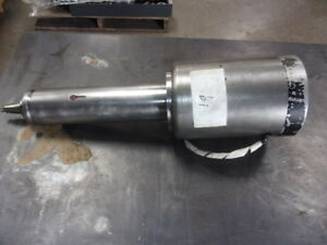 Parker Majestic Tool Mfg Internal Grinding Spindle Model 3x156 Motor Spind