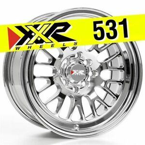 Xxr 531 15x8 4x100 4x114 3 20 Platinum Wheels Set Of 4