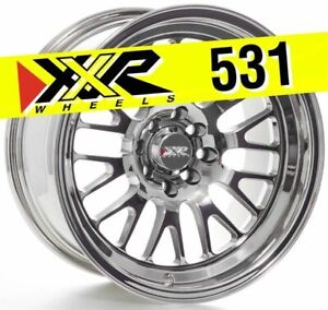 Xxr 531 16x8 4x100 4x114 3 0 Platinum Wheels Set Of 4