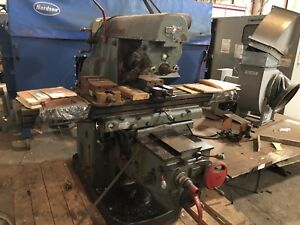 Cincinnati 410 14 Mi Vertical Milling Machine 14 X 70